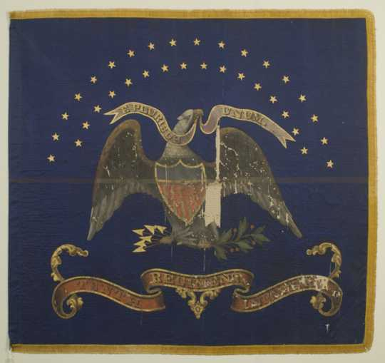 10th Minnesota regimental battle flag