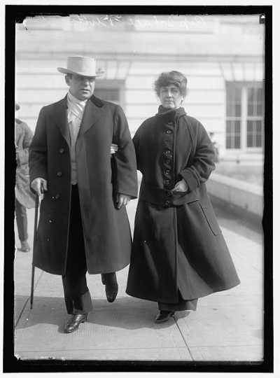 Thomas D. Schall and his wife, Margaret