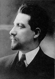 Black and white photograph of Carlo Tresca, c.1910. Tresca was an IWW leader during the Mesabi Range Strike of 1916.