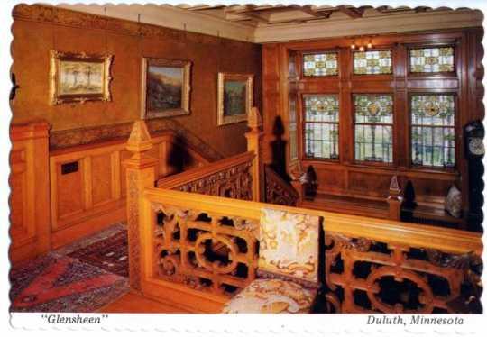 Glensheen staircase, undated.