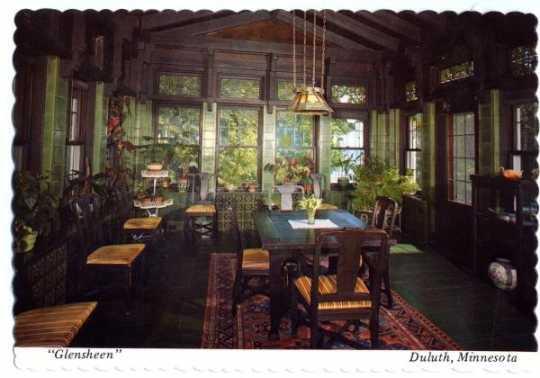 Glensheen breakfast room, undated.