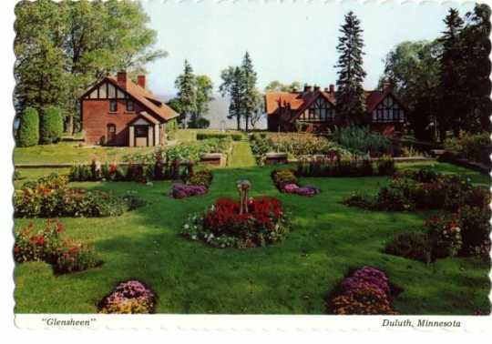 Glensheen gardens and outbuildings, undated.