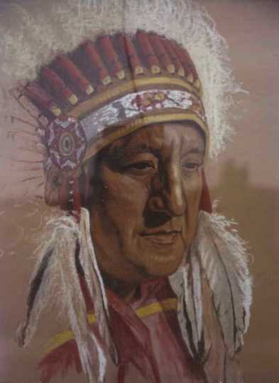 Portrait of Ernest Wabasha