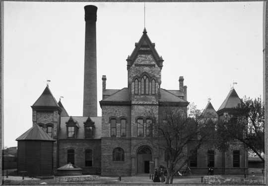 Pumping Station number three, Minneapolis.