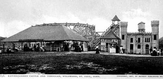 Wildwood Amusement Park, c.1915.