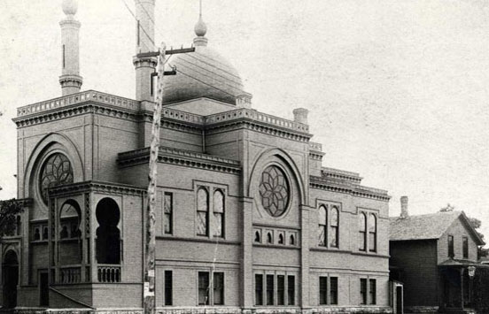 Temple Israel, Minneapolis, 1890